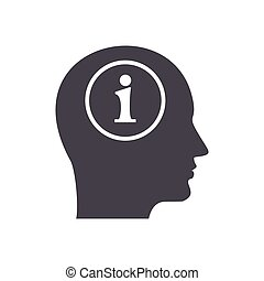 information in head icon