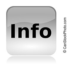 Information, info, web interface icon