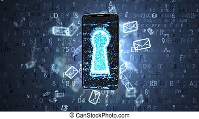 Information is protected in your phone. Protect your...