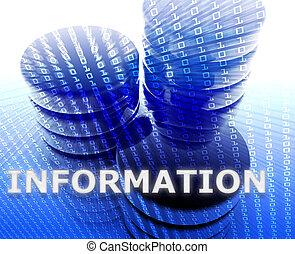information, mémorisation des données