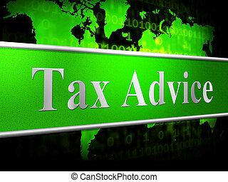 information, moyens, conseil, impôt, portion, réponse