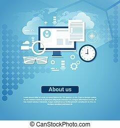 information, om, utrymme, oss, kontakta, nät, mall, avskrift, baner