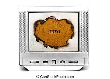 Information on TV