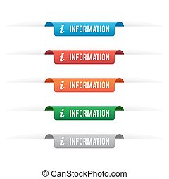 Information paper tag labels
