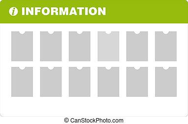information, planche