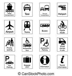 information, public, signes