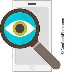 Information search  illustration