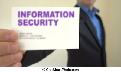 Information Security for hire - Shot of Information Security...