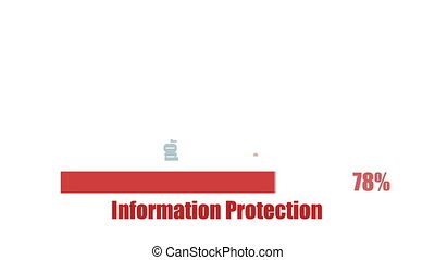 Information security management text with potential threats...