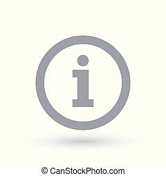 Information sign - Info symbol