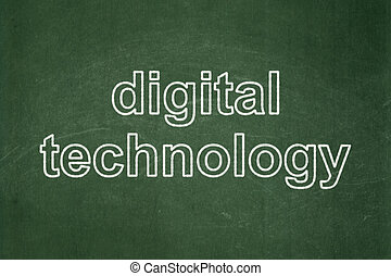information, tableau, fond, technologie numérique, concept:
