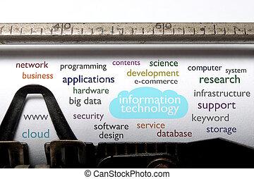 Information technology cloud