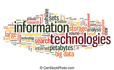 Information technology in tag cloud