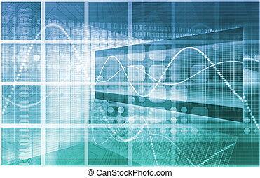Information Technology or IT Infotech as a Art