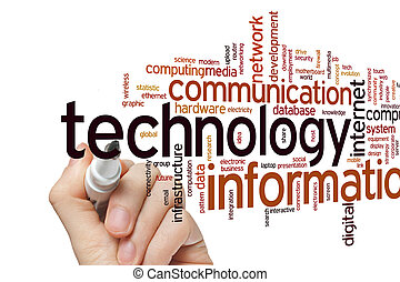 Information technology word cloud - Information technology...