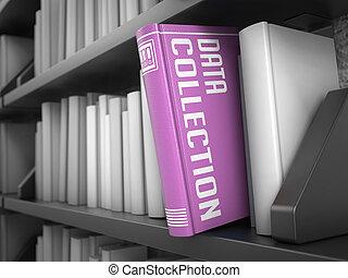 information, titre, concept., -, collection, book., données