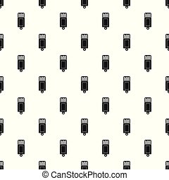 Information usb pattern seamless vector