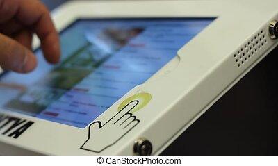 information, utilisation, écran, appareil
