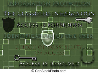 informationen, begriff, schutz