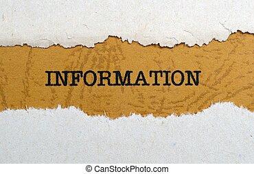 informationen