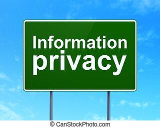 informationen, privatleben, zeichen, sicherheit, straße, ...