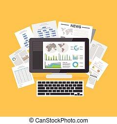 informationen, resources., online, digital, documents., articles.