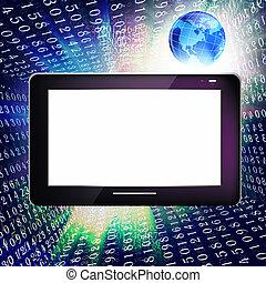 informationen, schöpfung, technologie
