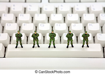 informationer säkerhet, begrepp, dator