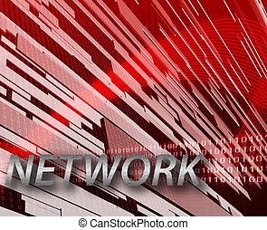 informationsnetz, hintergrund, internet