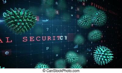 informatique, attaque, virus, malware