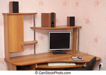informatique, bureau