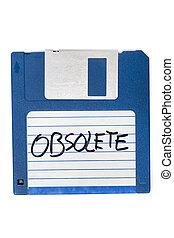 informatique, disquette, obsolète