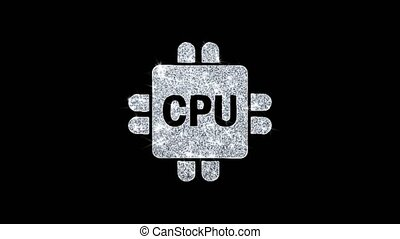 informatique, numérique, clignotant, boucle, icône, unité...