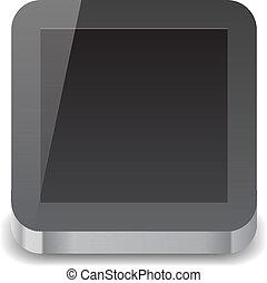 informatique, tablette, icône