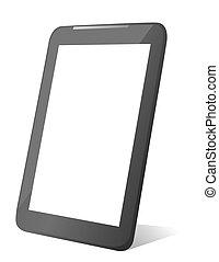 informatique, tablette, vecteur