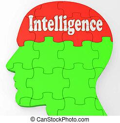 informazioni, conoscenza, intelligenza, cervello, educazione, mostra