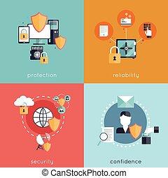 informazioni, sicurezza, appartamento