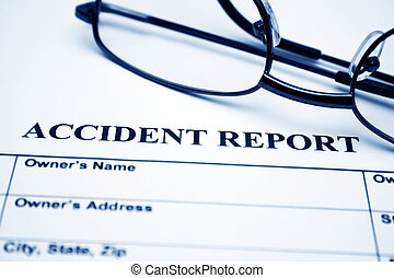 informe, accidente