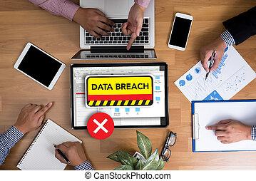 infracción, cybercrime, seguridad computadora, confidencial, datos