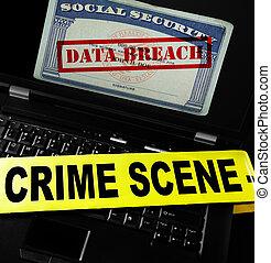 infraction, données ordinateur