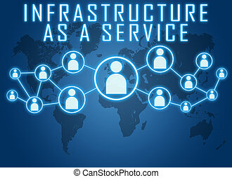 infraestructura, como, un, servicio