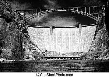 Glen Canyon Dam Colorado River Arizona