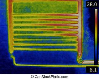 infrarouge, radiateur