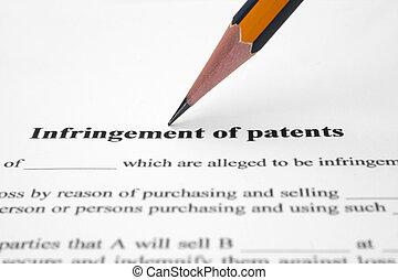 infringement, patents