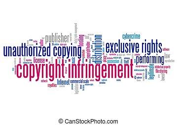 infringement, propiedad literaria