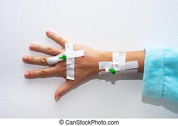 nadel für infusion