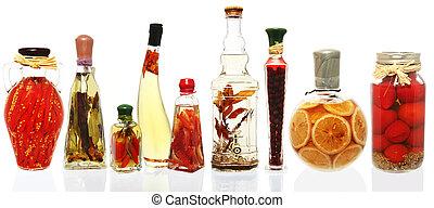 infusions, olaj, dzsem