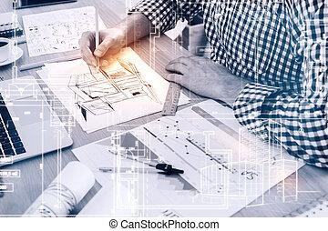 ingénierie, concept