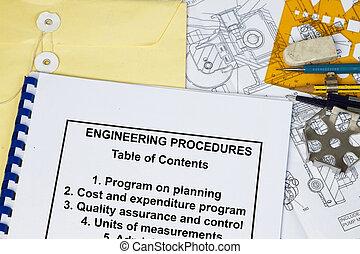 ingénierie, procédures