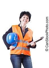 ingénieur, femme